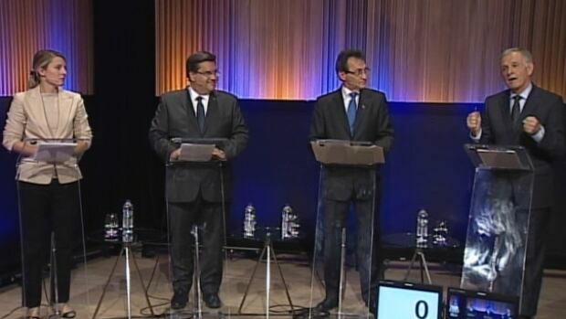 Montreal's main mayoral candidates battle over key issues in CBC's English debate ahead of the Nov. 3 election.