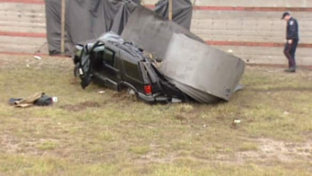 Suv Crushed By Steel Coil On Windsor Expressway Windsor