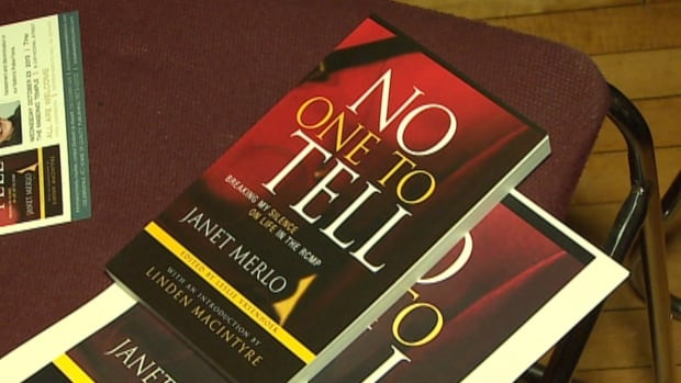 Janet Merlo launched her book, No One to Tell: Breaking My Silence in the RCMP, on Wednesday at the Masonic Temple in St. John's.