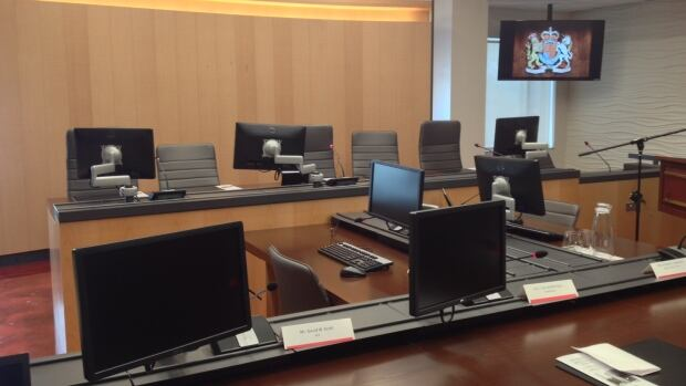 The Ian G. Scott courtroom officially opened Wednesday.