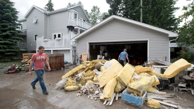 The neighbourhood of Bowness in northwest Calgary saw some of the worst flooding in last June's disaster.