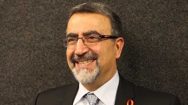 University of Waterloo President Feridun Hamdullahpur says the relationship between the university and Waterloo Region is mutually beneficial because the university raises the region's GDP and the region provides jobs for new grads.
