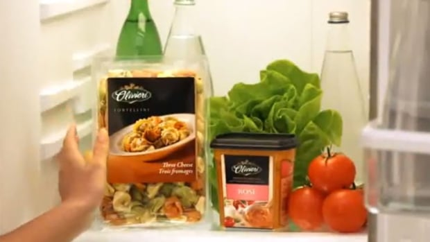 The Olivieri line of pasta and sauces is to be sold to Spain's Ebro Foods by Canada Bread.