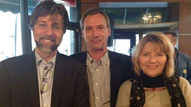 Projet Montréal's Luc Ferrandez, Équipe Denis Coderre's Gilbert Thibodeau and Coalition Montréal's Daniele Lorain are running for borough mayor in the Plateau-Mont-Royal.