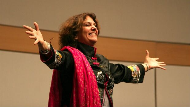 Storyteller Laura Simms uses storytelling to help people heal and deal with trauma.