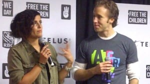 we day minnesota in this photo craig kielburger marc kielburger ...