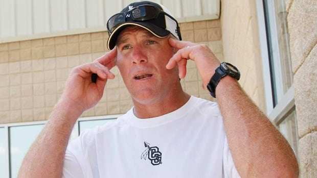 Former NFL quarterback Brett Favre doesn't appear to be coming out of retirement any time soon.