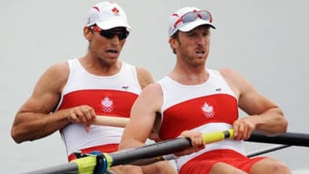Canadian rower David Calder (left) says changes to sponsorship rules at the Olympic Games will have a big impact for amateur athletes.