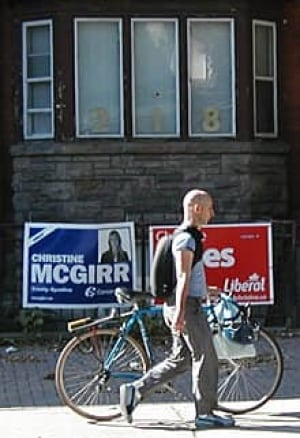 to-election-bike-signs