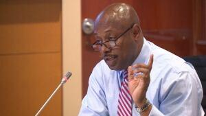 Eugene (Gene) Jones @ TCHC board meeting