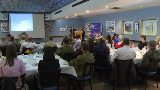 Business owners in Happy Valley-Goose Bay met with Bell Aliant representatives on Thursday.