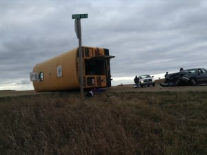 Holland school bus crash