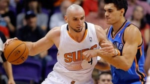 Centre Marcin Gortat averaged 11.1 points and 8.5 rebounds last season for the Phoenix Suns.
