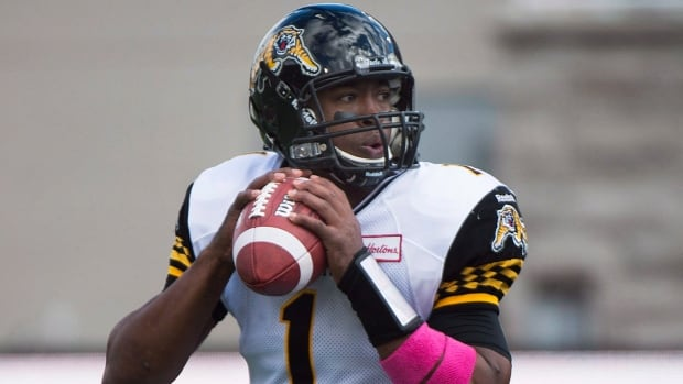 Hamilton Tiger-Cats quarterback Henry Burris is hoping he can help lead his club to a second-place finish in the East with a win over the Montreal Alouettes on Saturday.