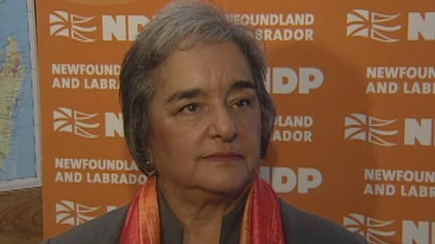 Following this weekend's NDP caucus meeting, leader Lorraine Michael says they had a 'full and frank discussion.'