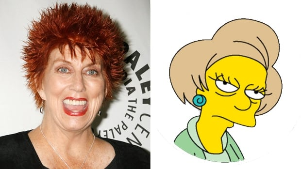 Actor Marcia Wallace, who played the voice of Edna Krabappel on The Simpsons, died Saturday.