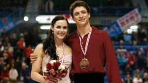 Canadian ice dancers Tessa Virtue and Scott Moir took gold in what may be their last Skate Canada International competition on Saturday.