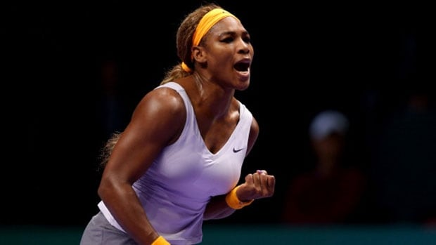 American Serena Williams has won 78 of 82 matches this season, including the WTA Championship on Sunday in Intanbul, Turkey.
