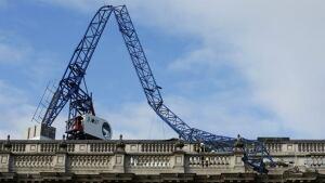 Britain crane