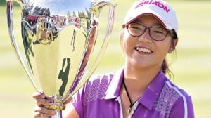 Lydia Ko, pictured here after winning the Canadian Women's Open in Edmonton on Aug. 25, will join the LPGA Tour next year.