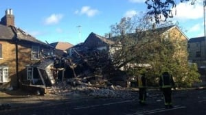 London house gas explosion