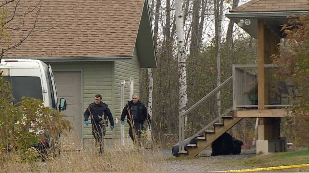 The community of Estaire is reeling after the news of another death in the same home where a woman was murdered three weeks ago. The Estaire Wanup Fire Department says it was Deputy Chief Terry Boyle, the murdered woman's husband. Police say 40 year old Sheri-Lyn McEwen's murder investigation is on going, but Boyle's death is not considered foul play.