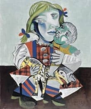 picasso-girlwithdoll-cp-11725749