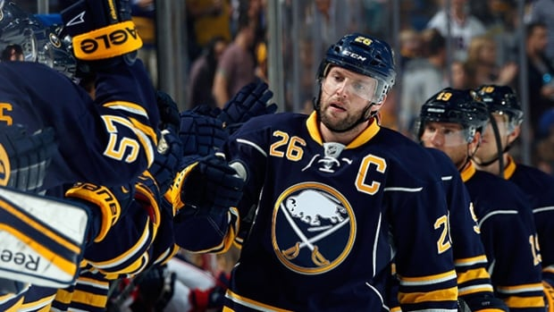 A report indicates that the Buffalo Sabres are still on the hook for a portion of Thomas Vanek's salary. Vanek was traded to the New York Islanders for Matt Moulson and draft picks on Sunday.