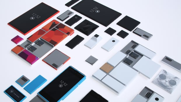 Motorola's Project Ara team has developed a frame that can be fitted with modules, ranging from basic features such as displays, to extra batteries to specialized gadgets such as a device for taking your pulse.