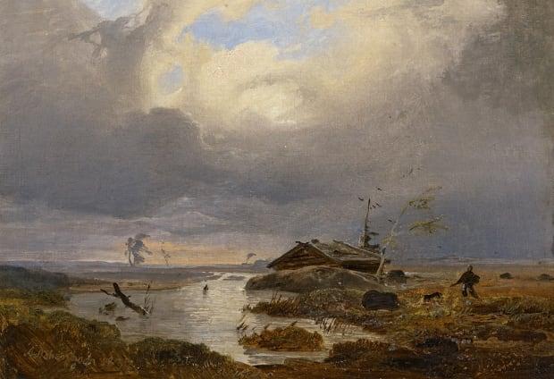 Scandinavian Landscape, by Andreas Achenbach