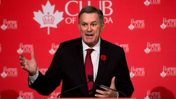 Tim Leiweke, president and CEO of Maple Leaf Sports and Entertainment speaks to The Empire Club of Canada in Toronto on Tuesday, Oct. 29, 2013. Leiweke spoke about the state of the Toronto Maple Leafs, Raptors and also the struggling Toronto FC MLS franchise.