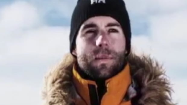 Chris Downey, a soldier from Cold Lake, Alta., completed the South Pole Allied Challenge before Christmas.