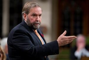 NDP Leader Tom Mulcair in question period