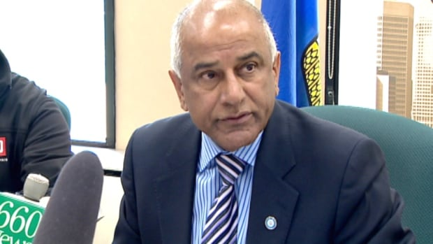 Mike Shaikh announced today he will be stepping aside as chair of the Calgary Police Commission on Thursday.