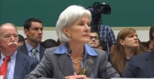 Health Secretary Kathleen Sebelius