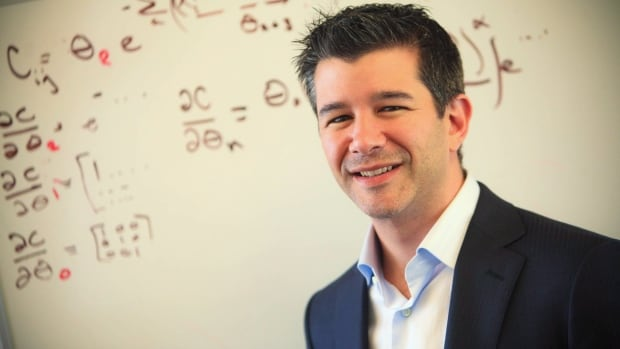 Travis Kalanick, shown in a handout photo, is the CEO of Uber, a high-tech car service company launching an app in Calgary this week.