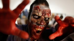 Halloween marketing, which has always emphasized spooky characters, has become increasingly gory in recent years.