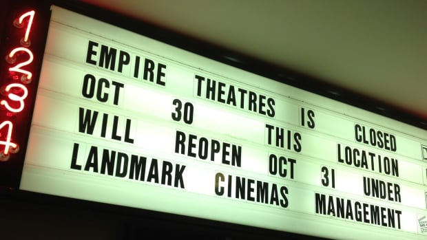 The Empire Theatre at the World Exchange Plaza reopens today under new management.