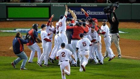 Boston Red Sox win