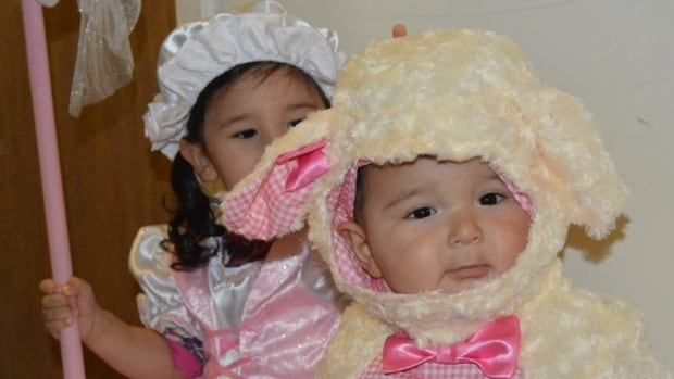 Anne-Colleen Tautu sent in this adorable photo of Little Bo Peep and her sheep.