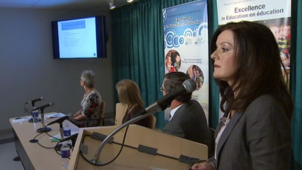 The P.E.I. government released the student assessment results at a news conference Thursday.
