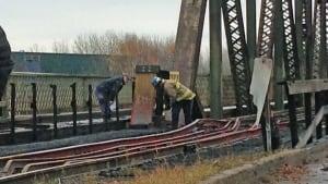 James Street bridge inspection