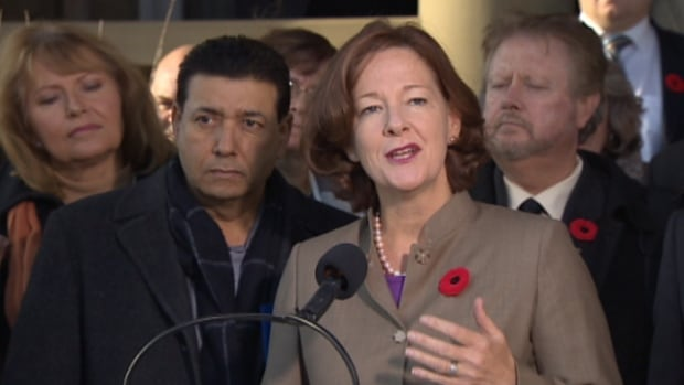 Premier Alison Redford announced on Thursday that her government is delaying Bill 28 to allow for more consultation with municipalities.