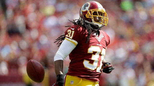 Washington Redskins strong safety Brandon Meriweather has been sanctioned twice by the league this season for illegal hits targeting the helmet and neck of defenceless receivers.