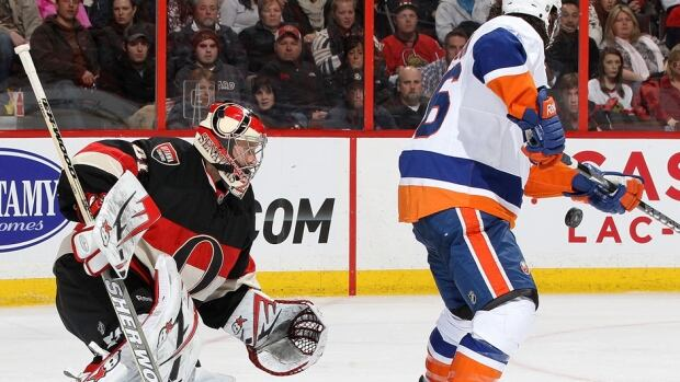 Senators goalie Craig Anderson has allowed 11 goals on 69 shots in two losses this week but is also pointing a finger at the defence in front of him. Ottawa has allowed an NHL-worst 37.0 shots per game.