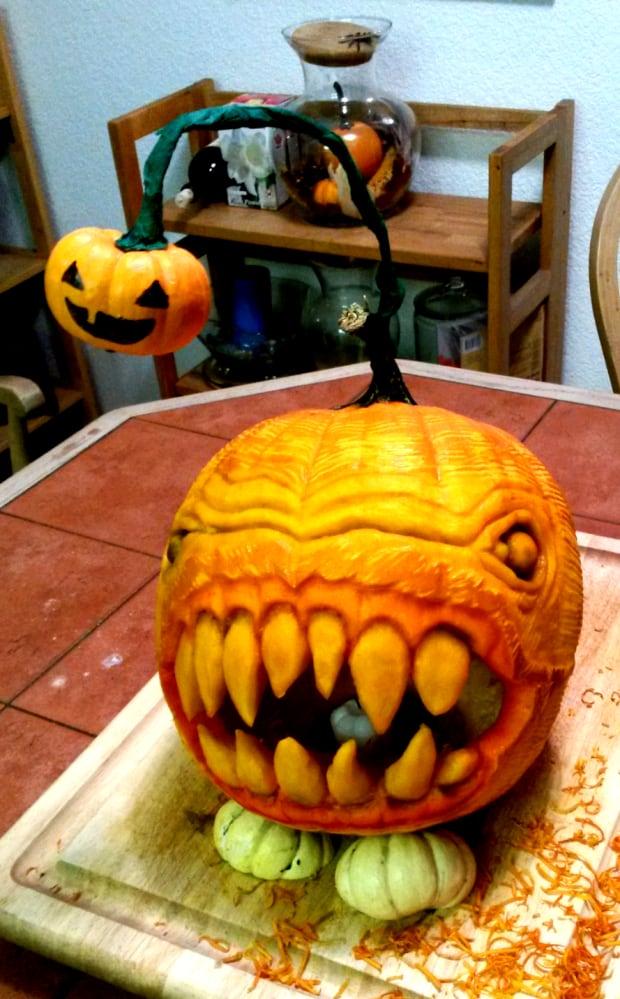 Pumpkin Carveapalooza Tara Varela