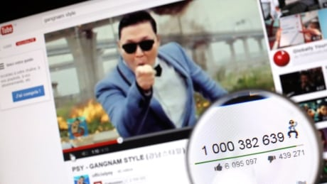 Psy's Gangnam Style on YouTube