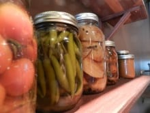 Pickled peppers at Chew