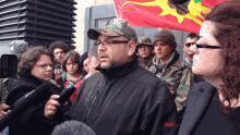 Shale gas protester Jason Augustine