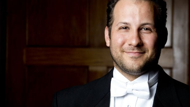 Julian Pellicano moved to Winnipeg from Boston to be the new resident conductor for the Winnipeg Symphony Orchestra.